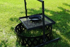 Campfire Grill with Grate