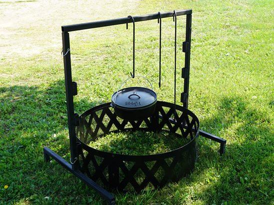 Dutch Oven Campfire Grill